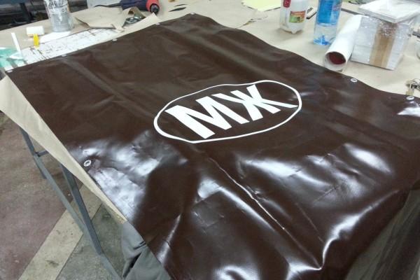 Печать на промышленных шторах
